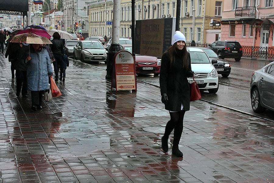 Погода, дождь. Тамбов. Фото Михаила Карасева