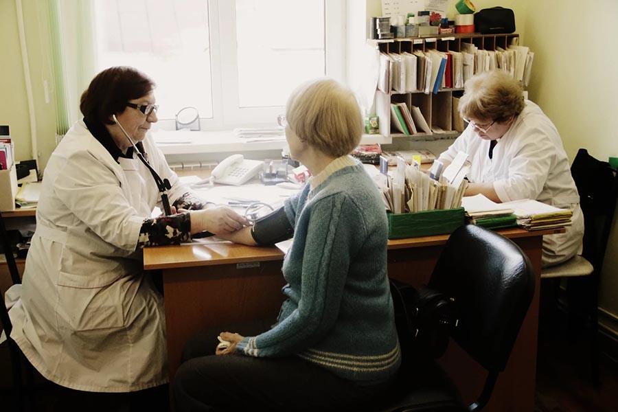 Диспансеризация, прием у врача