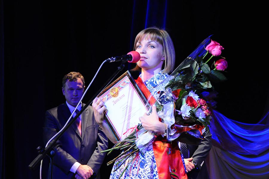 Победительница Дарья Пеняскина. Фото пресс-службы администрации города.