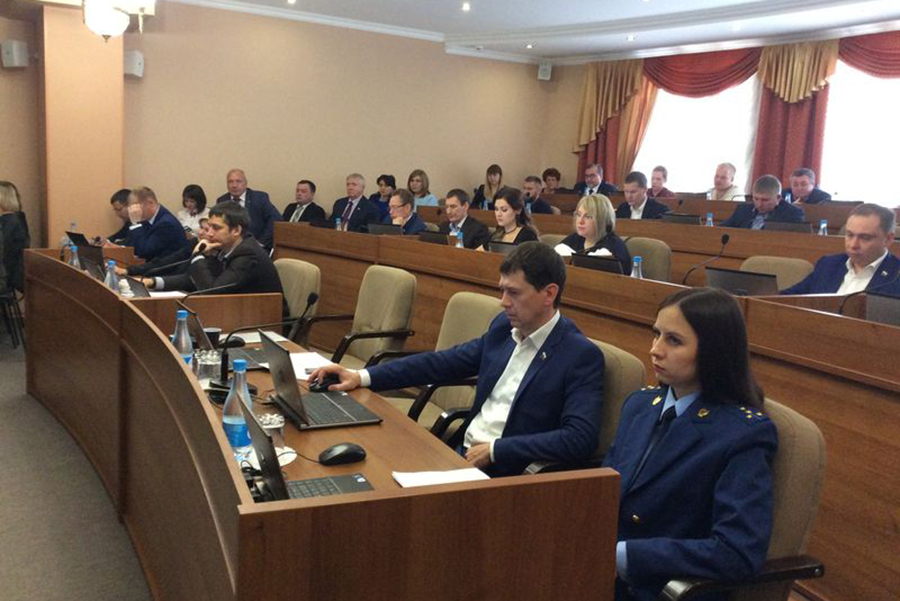 Депутаты Тамбовской гордумы