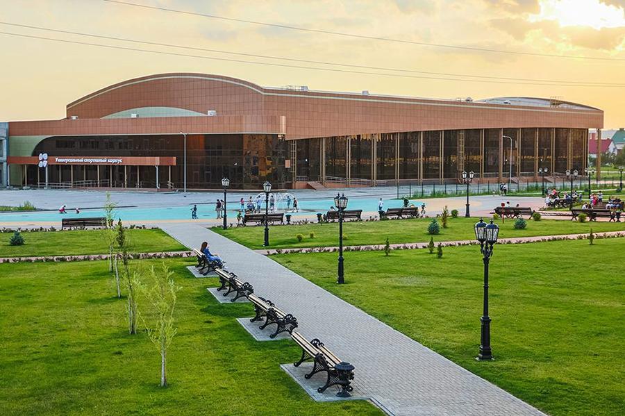 Центр единоборств. Фото Анны Мартыновой