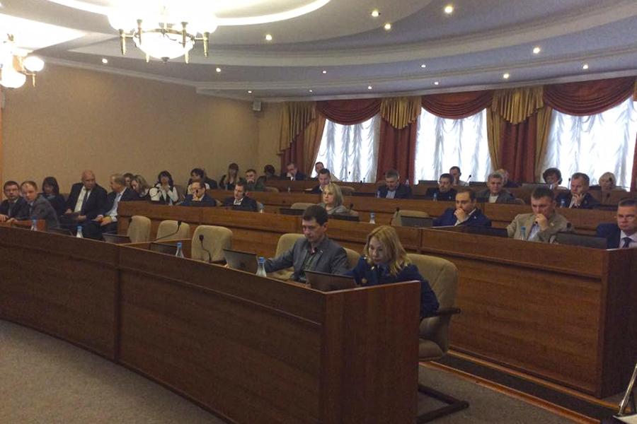 Заседание Тамбовской городской думы