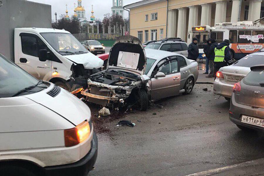 ДТП на Советской 23 ноября 2017 года