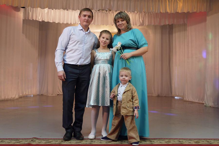 Семья Ванюшкиных
