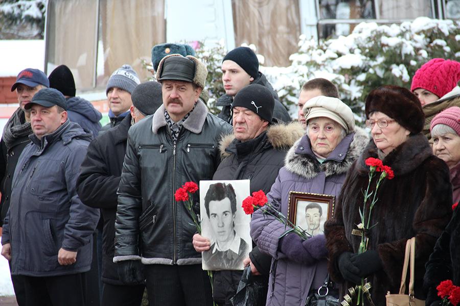 Родственники погибших в Чеченской войне