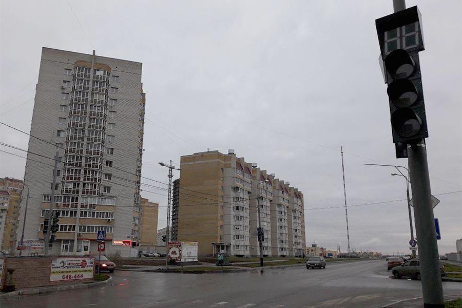 Светофор на улице Агапкина/Северо-Западная