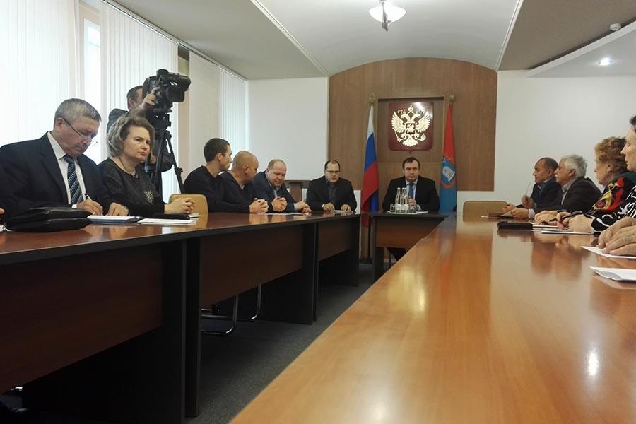 Заседание общественного совета по ЖКХ в Тамбовской области