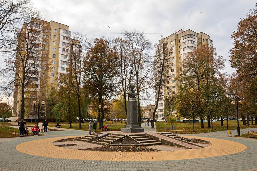 Тамбов, осень. Фото Юрия Путилина