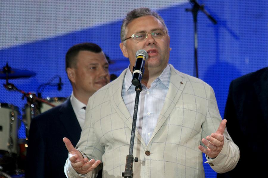 Сергей Чеботарев на Дне города - 2017
