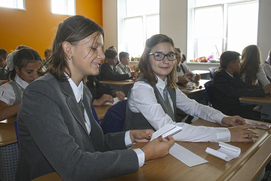 Ученики школы Сколково