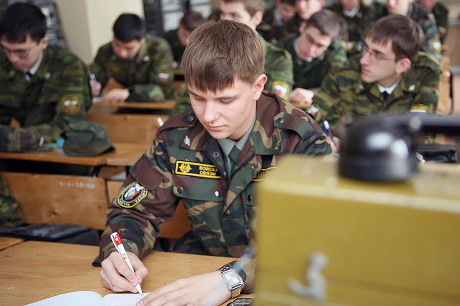Занятия на военной кафедре