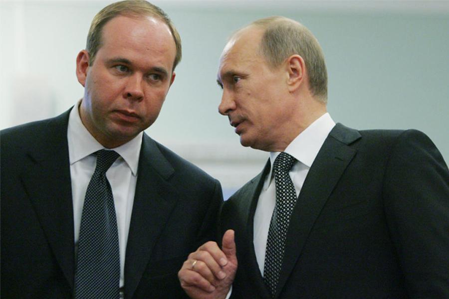 Антон Вайно и Владимир Путин