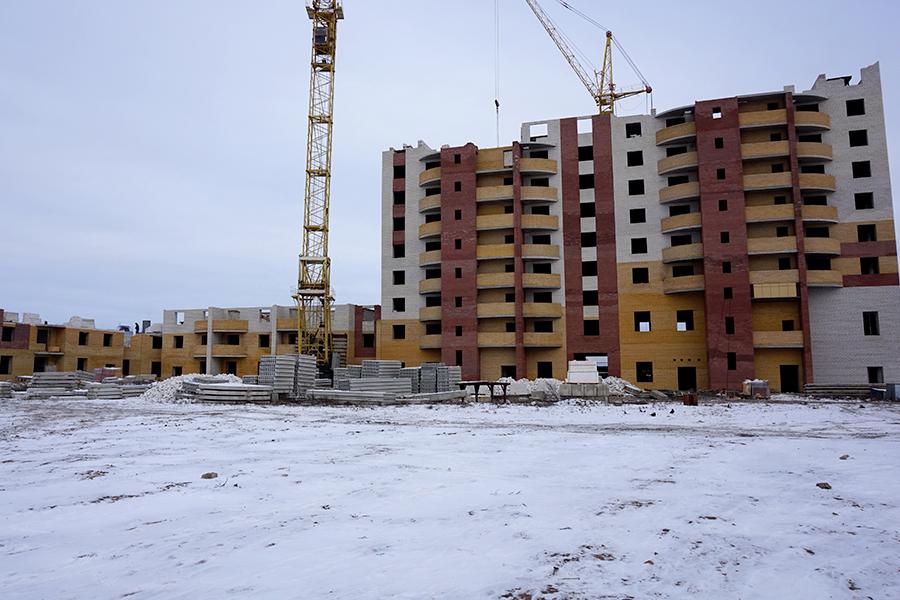 Возобновление строительства по Чичерина, 7