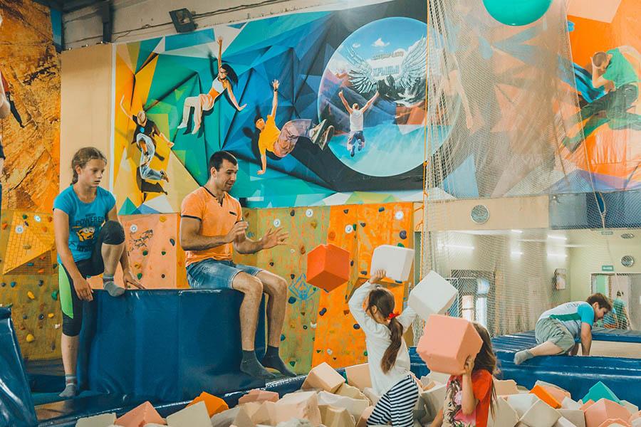 """Экстрим-центр """"Крылья"""". Фото из официальной группы в ВК."""