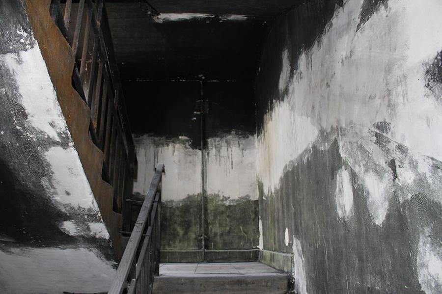 Подъезд после пожара