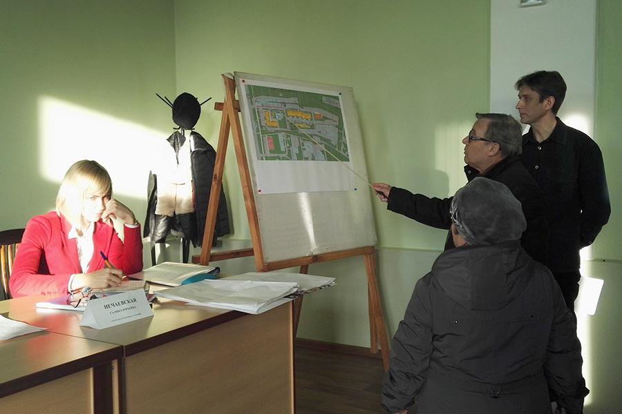 Публичные слушания по проекту планировки Советской - Моршанское шоссе - Монтажников
