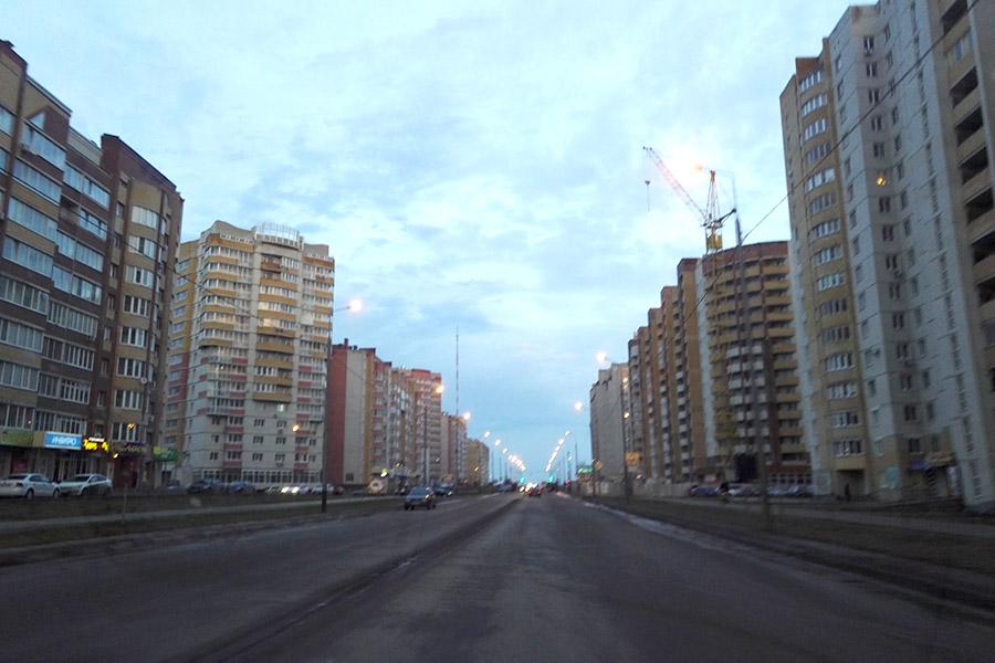Улица Агапкина, новостройки