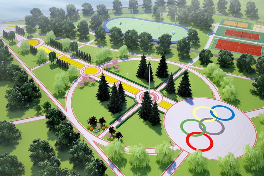 Проект Олимпийского парка
