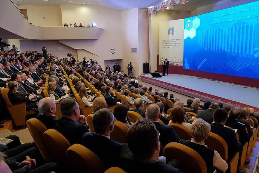 Послание губернатора, фото Вадима Измайлова