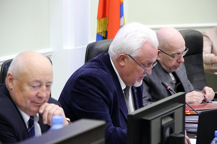 Заседание Тамбовской областной думы