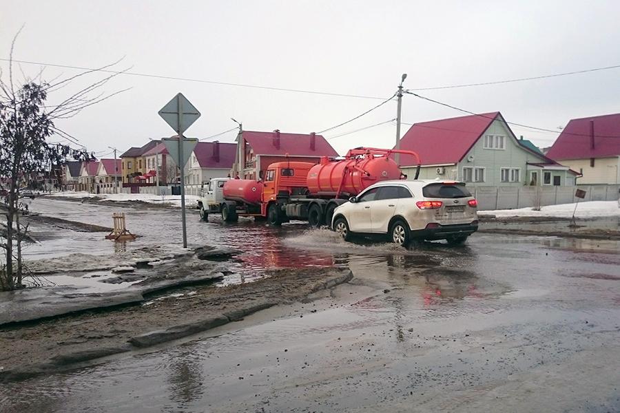 Илососы у Сколково