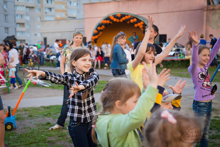 Праздник хороших соседей в 2013 году в Московском