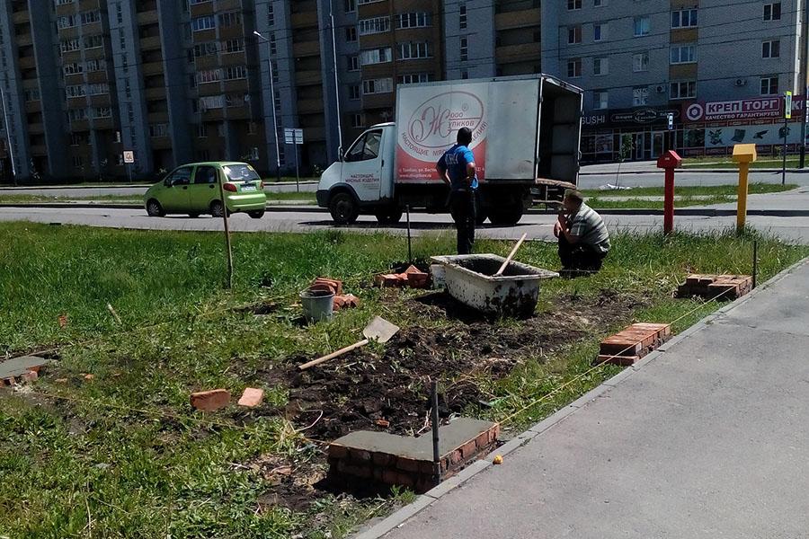 Незаконное строительство павильонов