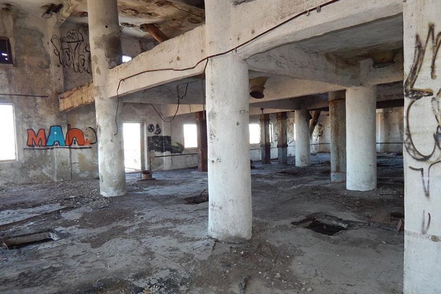 Заброшенный мукомольный завод в Тамбове