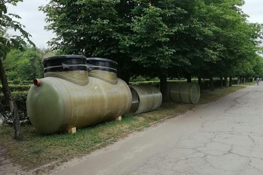 Строительство ливневки на Никифоровской, 40