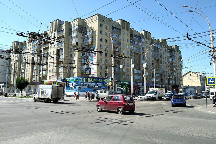 Перекресток на Советской - Чичканова, фото информационного управления администрации города Тамбова